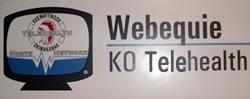 Webequie KO Telehealth